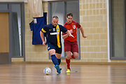 Wattcell Futsal Club v FC Polonia (Edinburgh) in the Scottish Futsal Finals day semi final at Perth College, Perth, Photo: David Young<br /> <br />  - &copy; David Young - www.davidyoungphoto.co.uk - email: davidyoungphoto@gmail.com