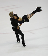 06 Aug 2009: Jane Summersett and Todd Gilles of the Broadmoor Figure Skating Club skate in the Senior Free Dance event during the 2009 Lake Placid Ice Dance Championships in lake Placid, N.Y.  The couple placed second in the event.  © Todd Bissonette