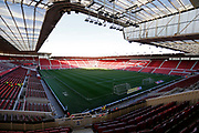 General view inside The Riverside Stadium during the EFL Sky Bet Championship match between Middlesbrough and Ipswich Town at the Riverside Stadium, Middlesbrough, England on 29 December 2018.