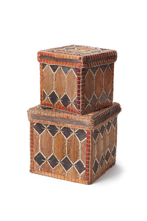 Animal skin boxes