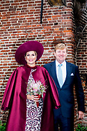 24-10-2017 - AMERSFOORT - Koning Willem-Alexander en Koningin Maxima bij De Koppelpoort  Streekbezoek van Koning Willem-Alexander en Koningin Maxima aan Eemland, Provincie Utrecht, dinsdag 24 oktober 2017 Copyright Robin Utrecht <br /> <br /> 24-10-2017 - AMERSFOORT - King Willem-Alexander and Queen Maxima at De Koppelpoort Regional visit of King Willem-Alexander and Queen Maxima to Eemland, Utrecht Province, Tuesday, October 24, 2017 Copyright Robin Utrecht