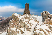 Stone memorial dedicated to the batte on Shipka