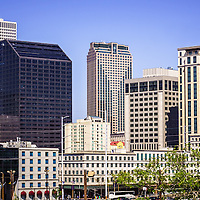 Picture of downtown New Orleans buildings.