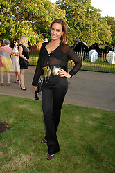 TARA PALMER-TOMPKINSON at the annual Serpentine Gallery Summer Party in association with Swarovski held at the gallery, Kensington Gardens, London on 11th July 2007.<br /><br />NON EXCLUSIVE - WORLD RIGHTS