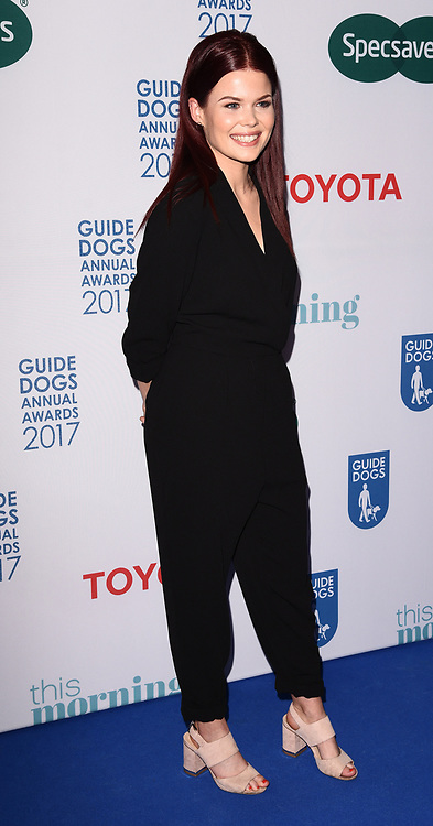 London, UK Lindsey Russell at The Guide Dogs Annual Awards held at The Hurlingham Club, Ranelagh Gardens, London on Wednesday 17 May 2017 <br /> Ref: LMK392 -46019-251113<br /> Vivienne Vincent/Landmark Media. <br /> WWW.LMKMEDIA.COM.