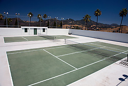 Tennis court, Hearst Castle, California, United States of America