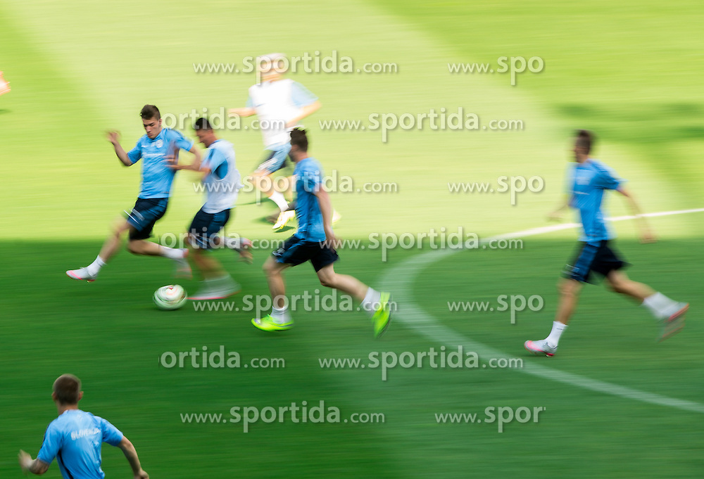 Benjamin Verbic during practice session of Slovenian National Football Team before Euro 2016 Qualifications match against England, on June 12, 2015 in SRC Stozice, Ljubljana, Slovenia. Photo by Vid Ponikvar / Sportida