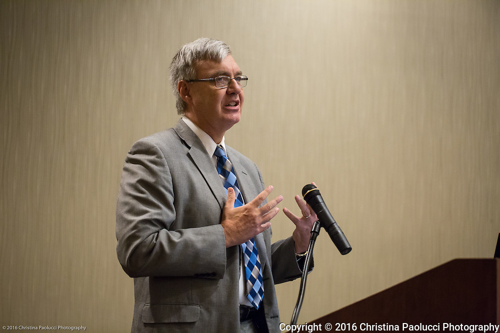 John Carey, Chancellor Ohio Department of Higher Education speaks to ICORPS@OHIO Thursday July 28th, 2016. (Christina Paolucci, photographer).