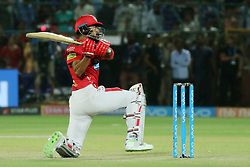May 8, 2018 - Jaipur, Rajasthan, India - Kings XI Punjab team batsman K.L Rahul plays a shot during the IPL T20 match against Rajasthan Royals at Sawai Mansingh Stadium in Jaipur,Rajasthan,India on 8th May,2018.(Photo By Vishal Bhatnagar/NurPhoto) (Credit Image: © Vishal Bhatnagar/NurPhoto via ZUMA Press)
