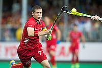 ANTWERP -   John-John  Dohmen of Belgium  during the final Australia vs Belgium (1-0). WSP COPYRIGHT KOEN SUYK