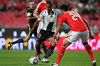20111029: LISBON, PORTUGAL - SL Benfica vs Olhanense: Portuguese League 2011/2012. <br /> In photo: Olhanense's forward Wilson Eduardo.<br /> PHOTO: Carlos Rodrigues/CITYFILES