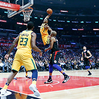 11-30 UTAH JAZZ AT LA CLIPPERS