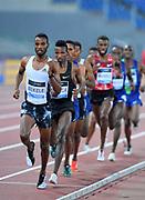 Telahun Haile (ETH) wins the 5,000m in 12:52.98 during the 39th Golden Gala Pietro Menena in an IAAF Diamond League meet at Stadio Olimpico in Rome on Thursday, June 6, 2019. (Jiro Mochizuki/Image of Sport)