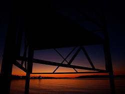 11.12.2015, Makarska, CRO, Sonnenuntergang in Makarska, im Bild Sonnenuntergang über dem Meer // during the Sunset and dusk over the sea at Makarska, Croatia on 2015/12/11. EXPA Pictures © 2015, PhotoCredit: EXPA/ Pixsell/ Toni Katic/HaloPix<br /> <br /> *****ATTENTION - for AUT, SLO, SUI, SWE, ITA, FRA only*****