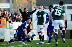 Plymouth Argyle manager Ryan Lowe - Mandatory by-line: Ryan Hiscott/JMP - 01/12/2019 - FOOTBALL - Memorial Stadium - Bristol, England - Bristol Rovers v Plymouth Argyle - Emirates FA Cup second round