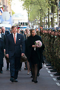 Bevrijdingsconcert 2015 op de Amstel in Amsterdam in aanwezigheid van de koninklijke Familie<br /> <br /> Freedomconcert 2015 on the Amstel River in Amsterdam in the presence of the Royal Family<br /> <br /> Op de foto / On the photo:  Koning Willem-Alexander en Koningin Maxima  //// King Willem-Alexander and Queen Maxima