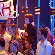 NLD/Hilversum/20070316 - 1e Live uitzending SBS So You Wannabe a Popstar, Victoria Koblenko op de tribune