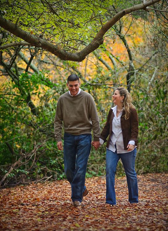 J.R. and Lisa McCannon engagement shoot Saturday, December 12, 2009 at the San Antonio Botanical Gardens. Photo Copyright Bahram Mark Sobhani