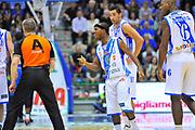 DESCRIZIONE : Campionato 2013/14 Dinamo Banco di Sardegna Sassari - Enel Brindisi<br /> GIOCATORE : Alessandro Martolini Marques Green<br /> CATEGORIA : Fair Play Proteste<br /> SQUADRA : Dinamo Banco di Sardegna Sassari<br /> EVENTO : LegaBasket Serie A Beko 2013/2014<br /> GARA : Dinamo Banco di Sardegna Sassari - Enel Brindisi<br /> DATA : 11/05/2014<br /> SPORT : Pallacanestro <br /> AUTORE : Agenzia Ciamillo-Castoria / Luigi Canu<br /> Galleria : LegaBasket Serie A Beko 2013/2014<br /> Fotonotizia : Campionato 2013/14 Dinamo Banco di Sardegna Sassari - Enel Brindisi<br /> Predefinita :