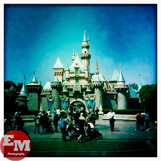 April 23, 2010; Anaheim, CA; USA; Sleeping Beauty's castle, Disneyland.