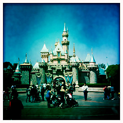 April 23, 2010; Anaheim, CA; USA; Sleeping Beauty's castle, Disneyland.