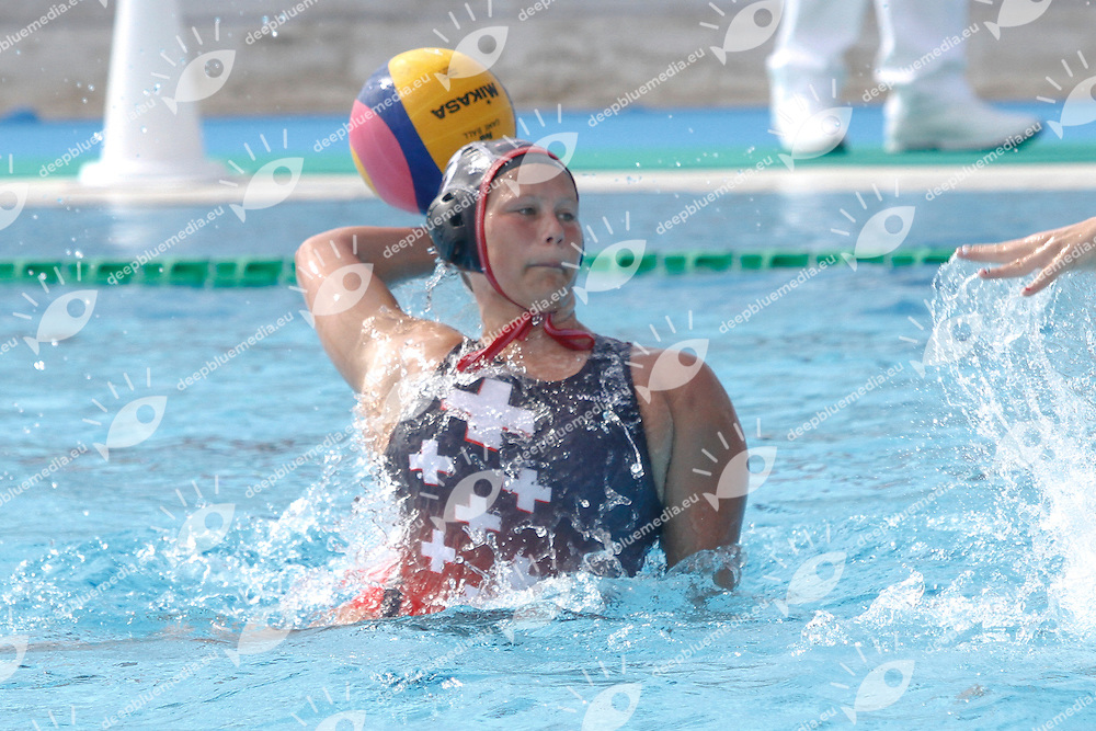 HUNGARY - SWITZERLAND HUN - SUI<br /> LEN Women European Under 19 Water Polo Championships<br /> Ostia (RM), Italy 2014  Sept.7 th - Sept.14th<br /> Day 4- Sept.  10<br /> Photo P.Pizzi/Deepbluemedia