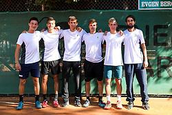 The athletes prior to the Tennis tournament for amateurs organised by Tenis Slovenija, on September 15, 2018 in Teniski Klub Branik, Maribor, Slovenia. Photo by Matic Klansek Velej / Sportida
