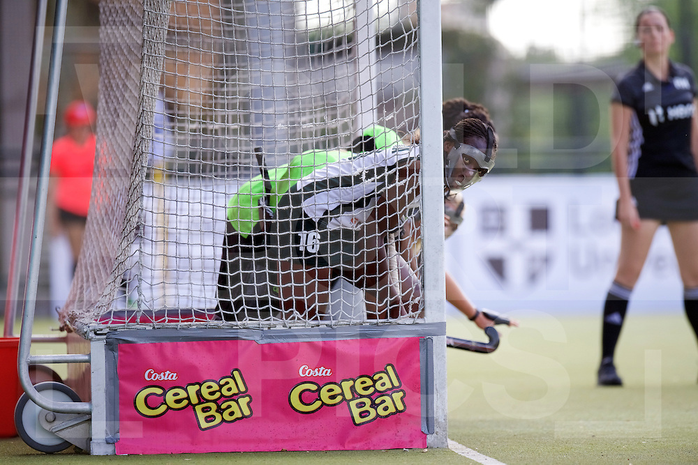 SANTIAGO - 2016 8th Women's Hockey Junior World Cup<br /> KOR v ZIM (Pool A)<br /> foto: Penalty corner defense.<br /> FFU PRESS AGENCY COPYRIGHT FRANK
