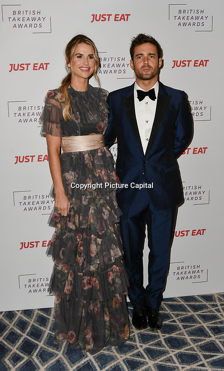 Vogue Matthews and Spencer Matthews attends the British Takeaway Awards, in association with Just Eat at London's Savoy Hotel on 12 November 2018, London, UK.