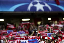 September 12, 2017 - Lisbon, Portugal - Benfica supporters waving their charts during the Champions League  football match between SL Benfica and CSKA Moskva at Luz  Stadium in Lisbon on September 12, 2017. NURPHOTO/CARLOS COSTA. (Credit Image: © Carlos Costa/NurPhoto via ZUMA Press)