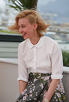 Actress Sarah Gadon at the photo call for the film Maps To The Stars at the 67th Cannes Film Festival, Monday 19th May 2014, Cannes, France.
