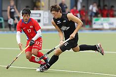 Auckland-Hockey, New Zealand v Korea