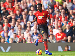 MANCHESTER, ENGLAND - Sunday, February 24, 2019: Manchester United's Paul Pogba during the FA Premier League match between Manchester United FC and Liverpool FC at Old Trafford. (Pic by David Rawcliffe/Propaganda)