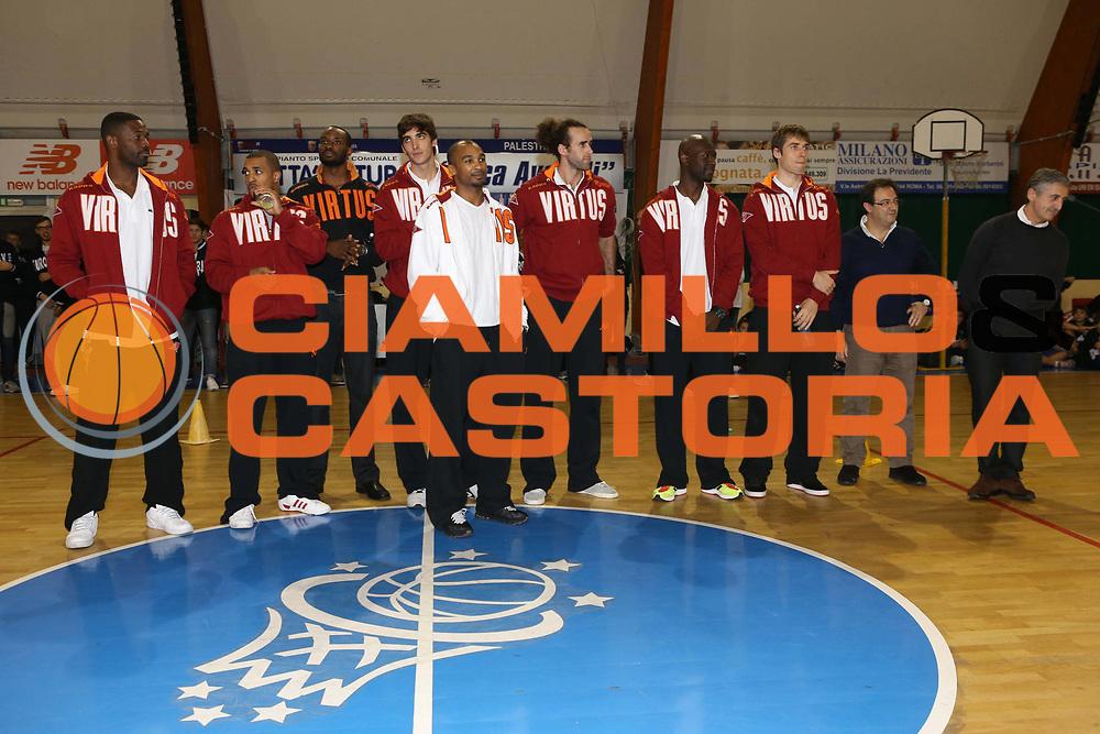 DESCRIZIONE : Roma Festa Eurobasket Virtus Roma <br /> GIOCATORE : team<br /> SQUADRA : Acea Virtus Roma Eurobasket<br /> CATEGORIA : curiosita ritratto<br /> EVENTO : Campionato Lega A 2012-2013<br /> GARA : <br /> DATA : 05/11/2012<br /> SPORT : Pallacanestro<br /> AUTORE : Agenzia Ciamillo-Castoria/M.Simoni<br /> Galleria : Lega Basket A 2012-2013<br /> Fotonotizia : Roma Festa Eurobasket Virtus Roma <br /> Predefinita :