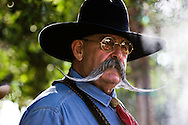 Chef Billy Ruiz, host of the western-themed cooking show Cowboy Flavor, airing on the RFDTV network.