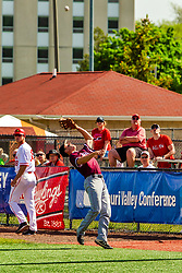 20 May 2019:  J.T. Weber. Missouri Valley Conference Baseball Tournament - Southern Illinois Salukis v Illinois State Redbirds at Duffy Bass Field in Normal IL<br /> <br /> #MVCSPORTS