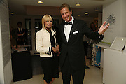 Elspeth Cornish and Rob Hersov, 3rd [annual] FORTUNE Global 500 Gala, Serpentine Gallery. 19 September 2006. ONE TIME USE ONLY - DO NOT ARCHIVE  © Copyright Photograph by Dafydd Jones 66 Stockwell Park Rd. London SW9 0DA Tel 020 7733 0108 www.dafjones.com