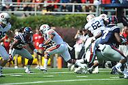 Auburn running back Tre Mason (21) scores at Vaught-Hemingway Stadium in Oxford, Miss. on Saturday, October 13, 2012.