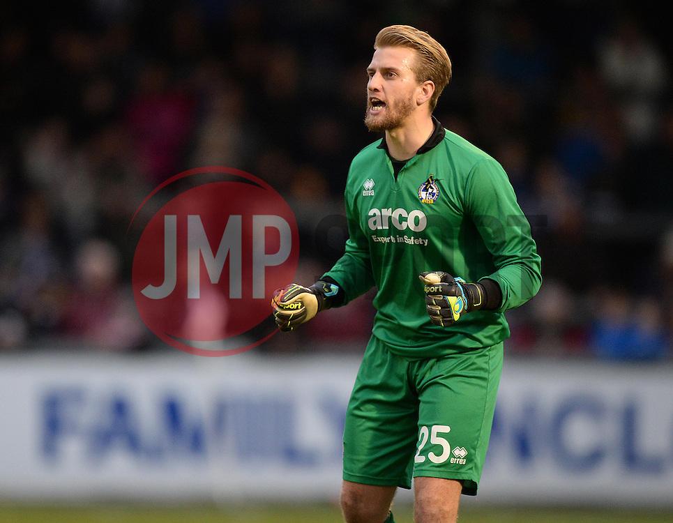 Bristol Rovers' Will Puddy - Photo mandatory by-line: Alex James/JMP - Mobile: 07966 386802 - 01/01/2015 - SPORT - football - Bristol - Memorial Stadium - Bristol Rovers v Torquay United - Vanarama Football Conference