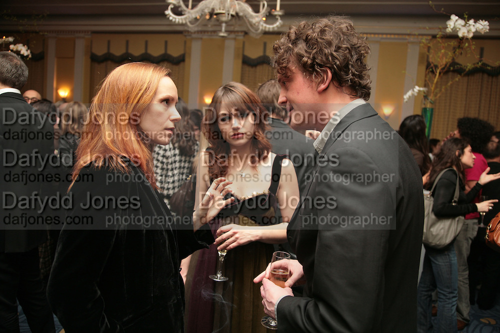 Atlante Kavaite, Emilie Dequenne, Opening Gala of Rendez-Vous with French Cinema. Screening of La Vie En Rose and party afterwards at Claridges. 29 March 2007. -DO NOT ARCHIVE-© Copyright Photograph by Dafydd Jones. 248 Clapham Rd. London SW9 0PZ. Tel 0207 820 0771. www.dafjones.com.