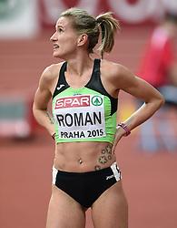 06-03-2015 CZE: European Athletics Indoor Championships, Prague<br /> Sonja Roman SLO