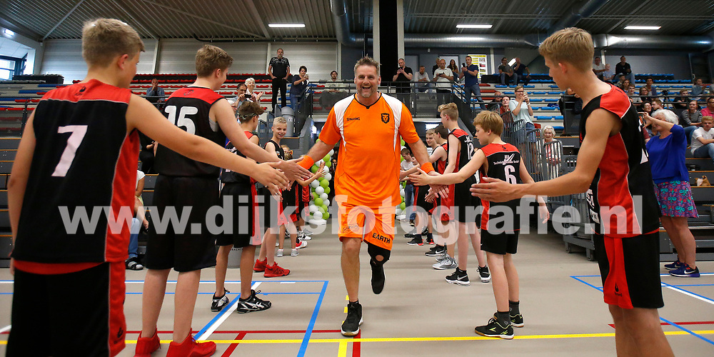 DRACHTEN , 02-06-2018 , basketbal , Penta - Oud Internationals , Henk Pieterse<br /> <br /> foto: Henk Jan Dijks