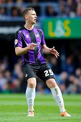 Seanan Clucas (NIR) of Bristol Rovers looks frustrated as his shot is saved - Photo mandatory by-line: Rogan Thomson/JMP - 07966 386802 - 19/04/2014 - SPORT - FOOTBALL - Fratton Park, Portsmouth - Portsmouth FC v Bristol Rovers - Sky Bet Football League 2.