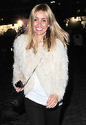 22.FEBRUARY.2011. LONDON<br /> <br /> LOUISE REDKNAPP LEAVING SOMERSET HOUSE WEARING A PAIR OF VICTORIA BECKHAM'S SHOES FOR LONDON FASHION WEEK 2011 IN LONDON<br /> <br /> BYLINE: EDBIMAGEARCHIVE.COM<br /> <br /> *THIS IMAGE IS STRICTLY FOR UK NEWSPAPERS AND MAGAZINES ONLY*<br /> *FOR WORLD WIDE SALES AND WEB USE PLEASE CONTACT EDBIMAGEARCHIVE - 0208 954 5968*