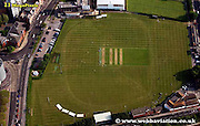 aerial photograph of United Services Recreation Ground Portsmouth Hampshire UK