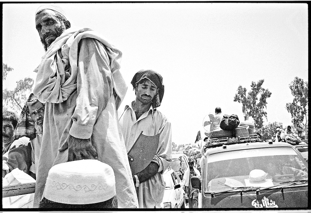 Mardan: Tens of thousands of people from the SWAT Valley have been ordered to leave the valley by Pakistan's military as it battles Taliban fighters in the Northwest Frontier Province...Tens of thousands of Pakistani civilians in the Swat valley have found themselves trapped amid worsening fighting between government forces and the Taliban...Bodies were reported to be lying in roads, homes reduced to ruins and people left cowering with no means of escape after the military imposed curfews across the region amid the fighting.