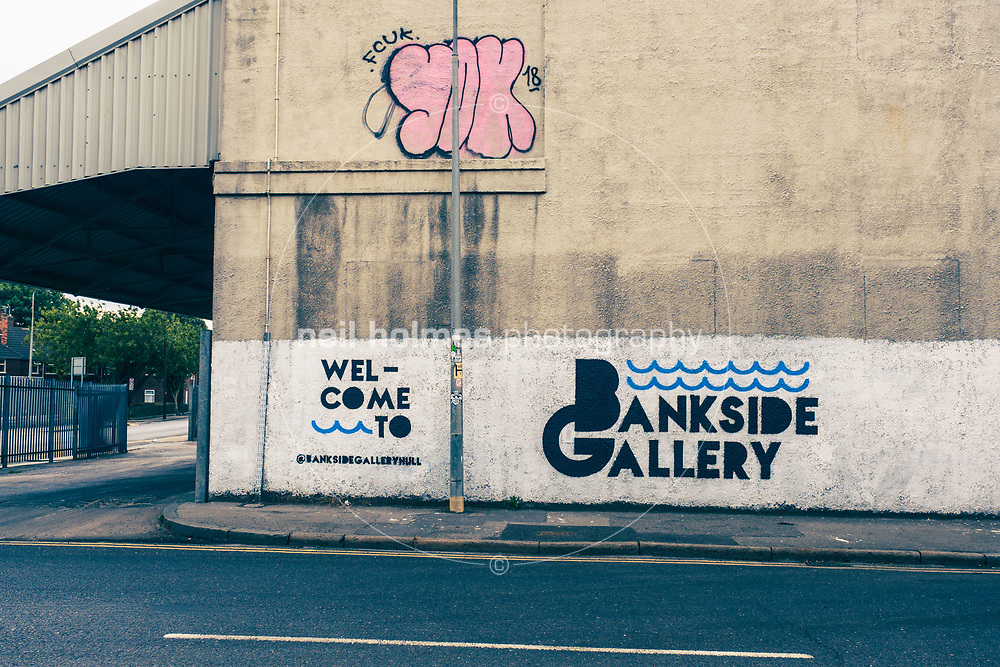 Bankside Gallery, Kingston Upon Hull, East Yorkshire, United Kingdom, 20 August, 2018. Pictured: Bankside Gallery