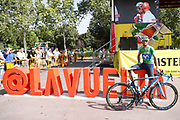 Alejandro Valverde (ESP - Movistar) green jersey, during the UCI World Tour, Tour of Spain (Vuelta) 2018, Stage 9, Talavera de la Reina - La Covatilla 200,8 km in Spain, on September 3rd, 2018 - Photo Luis Angel Gomez / BettiniPhoto / ProSportsImages / DPPI