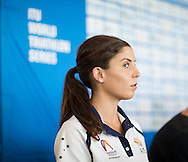 General View, April 9, 2015 - TRIATHLON : ITU World Triathlon - Press Conference, Southport, Gold Coast, Queensland, Australia. Credit: Lucas Wroe