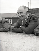 FIA, Council Member Army Captin T. Scully Shamrock Rovers,  22-7-1952